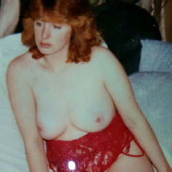 Sharing My Wife  - Big Tits, Lingerie, Redhead, See Through, Wives In Lingerie