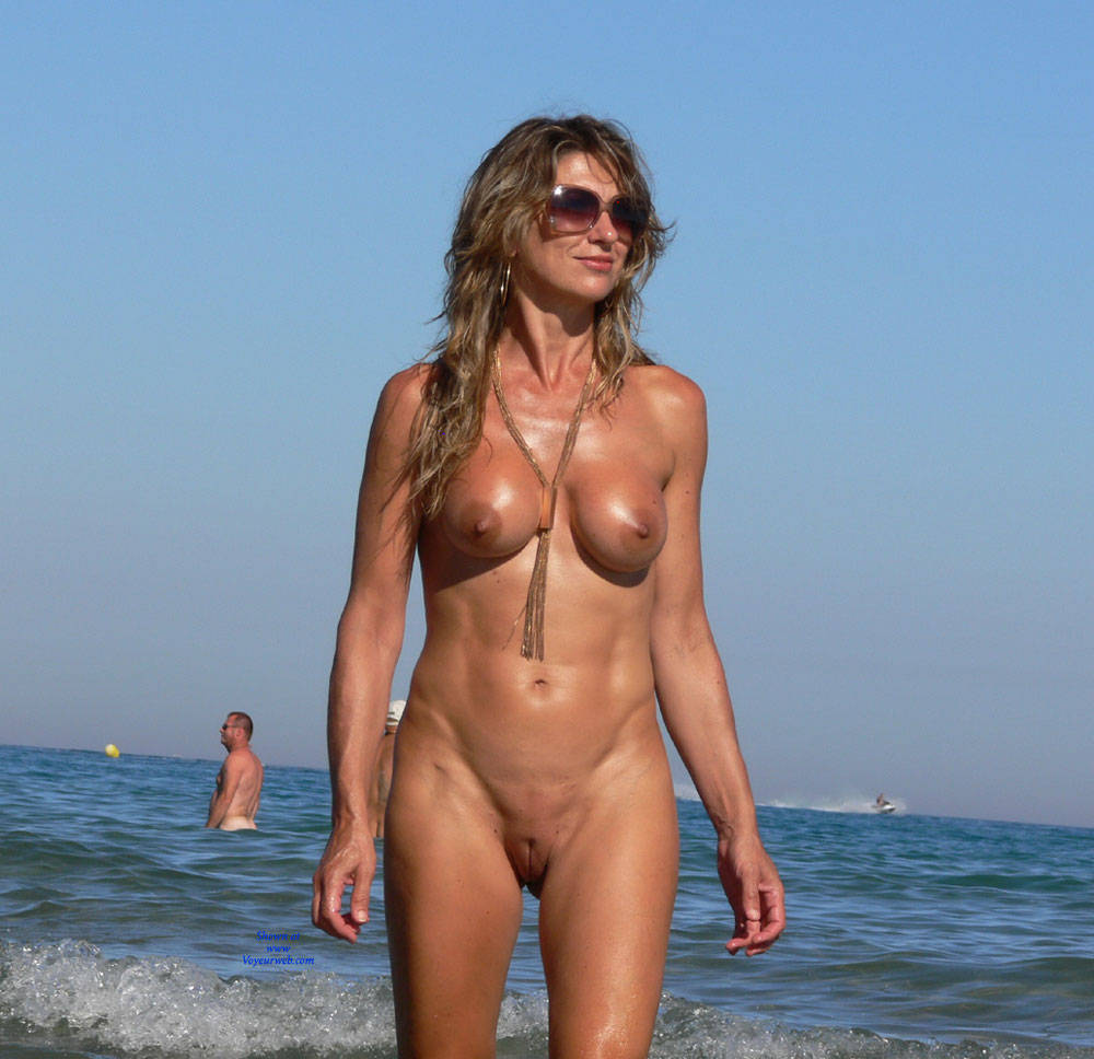 tits at beach Big nude