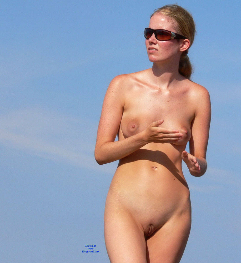 Exaggerate. nudist at the beach and shaved mine the