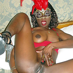 Black Nymphomaniac Bi-Slut - Big Tits, Body Piercings, Close-Ups, Ebony, Shaved