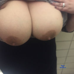 Naughty In The Bathroom - Big Tits, Wife/Wives