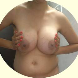 Very large tits of my wife - Nalini