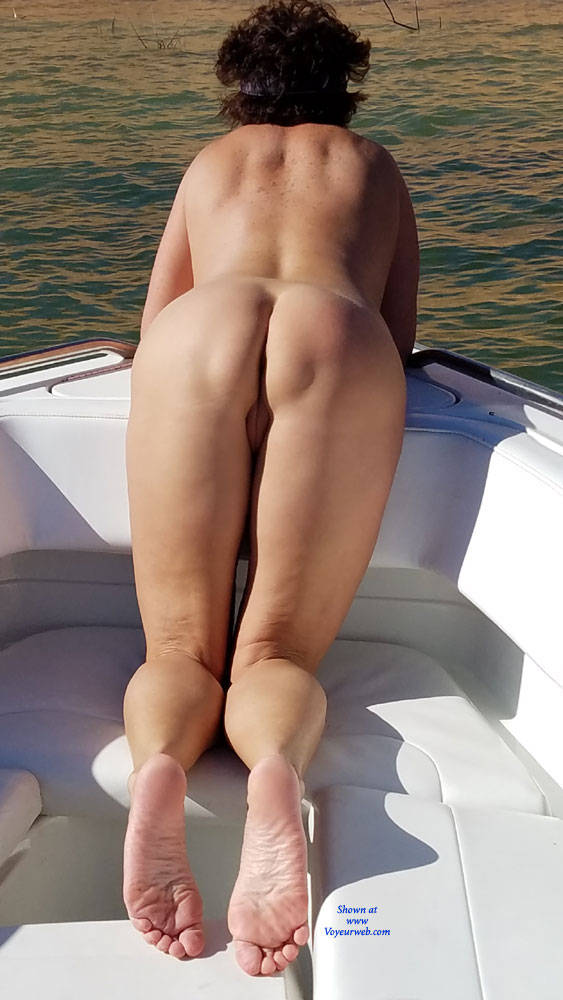 Pic #4 My Sweet Ass - Brunette, Outdoors, Wife/wives
