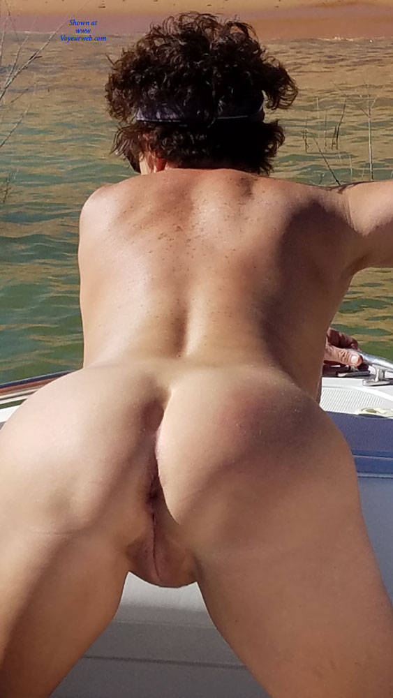 Pic #5 My Sweet Ass - Brunette, Outdoors, Wife/wives