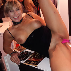 Venus 2016 Erotic Fair 1 - Big Tits, Public Exhibitionist, Public Place, Shaved, Toys