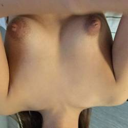 Small tits of my wife - Her again