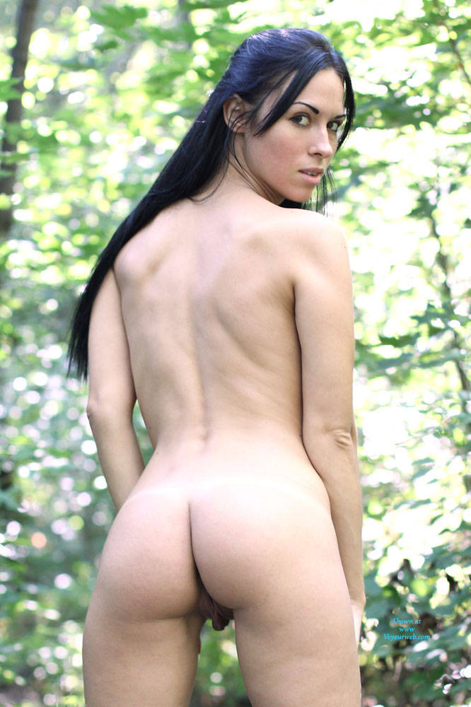 Pic #5 Alexa - Big Tits, Brunette, Firm Ass, Nature, Outdoors, Shaved