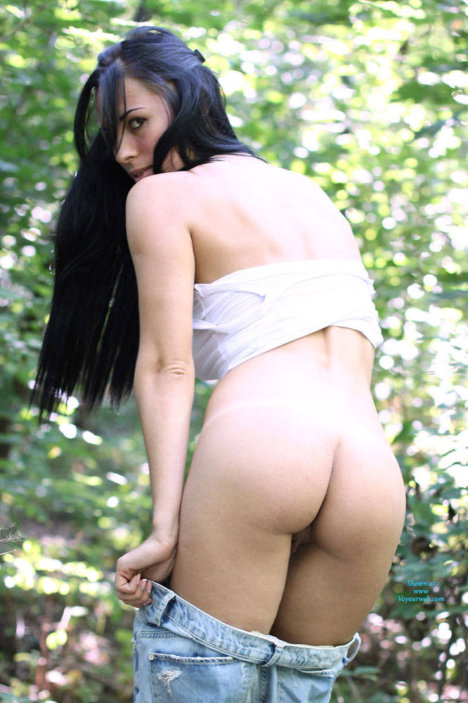 Pic #3 Alexa - Big Tits, Brunette, Firm Ass, Nature, Outdoors, Shaved
