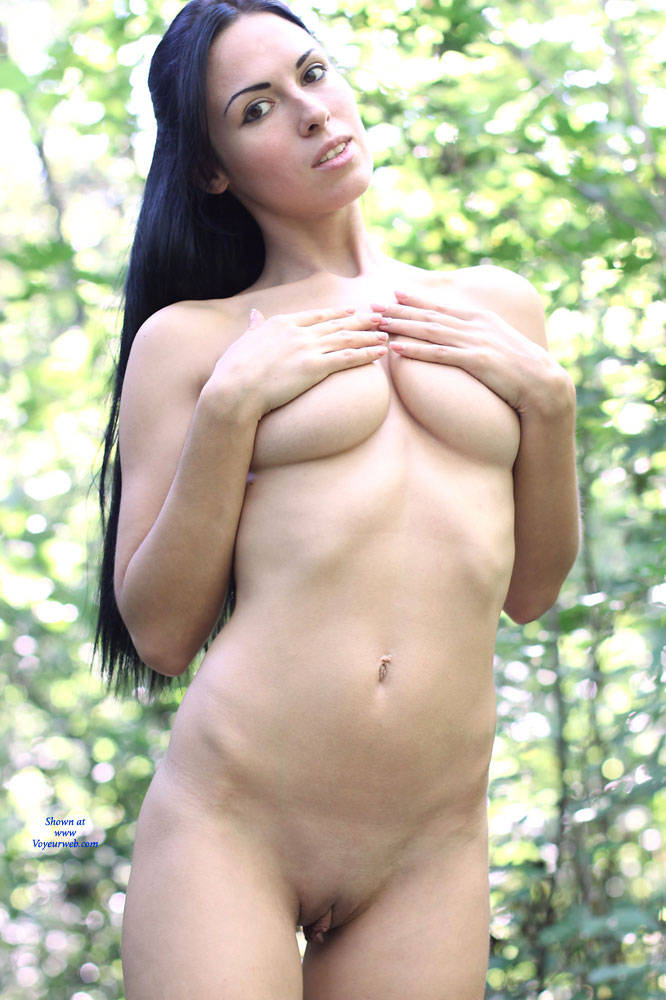 Pic #7 Alexa - Big Tits, Brunette, Firm Ass, Nature, Outdoors, Shaved