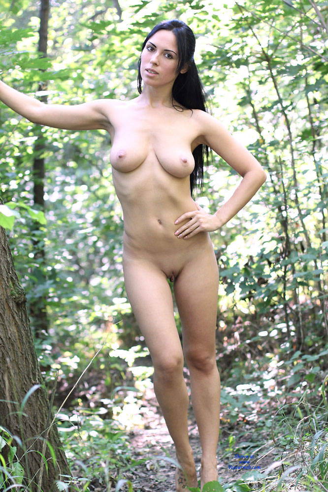 Pic #10 Alexa - Big Tits, Brunette, Firm Ass, Nature, Outdoors, Shaved