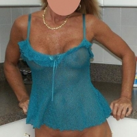 Wife in Short Green Nightie - Lingerie, Wife/Wives
