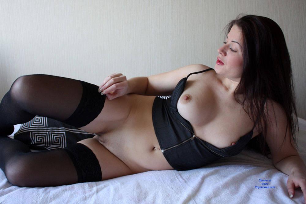 Pic #4 Viko In Bed - Brunette, Lingerie