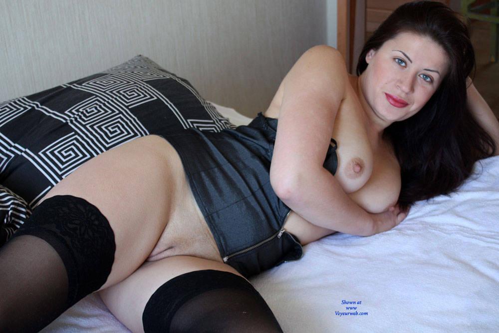 Pic #6 Viko In Bed - Brunette, Lingerie