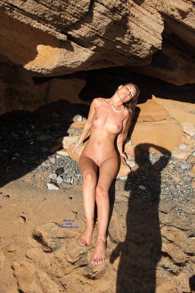 Pic #7 Naked Day Exploring Part 2 - Big Tits, Brunette, Public Exhibitionist, Public Place