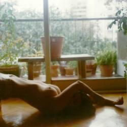 Medium tits of my ex-wife - marijuana