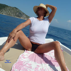 Greek Holiday 4 - Big Tits, Outdoors, See Through