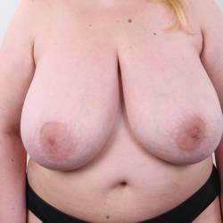 Extremely large tits of a neighbor - Leila