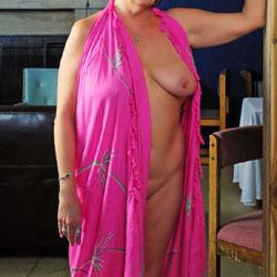 At A Photo Shoot - Big Tits, Lingerie