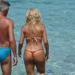 Cougar Asses Around The World - Beach Voyeur, Bikini Voyeur, Outdoors