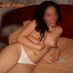 My Wife Juana And Her Tits - Medium Tits, Wives In Lingerie, Bush Or Hairy