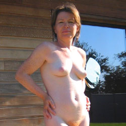 Mary Outside - Outdoors, Bush Or Hairy