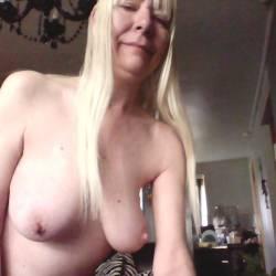 My large tits - 38DDblonde