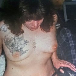 My Ex Slut Wife Posing - Big Tits, Tattoos