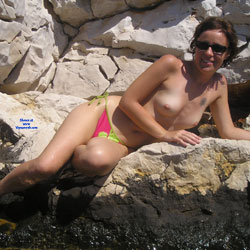 Mermaiden - Brunette, Amateur, Outdoors, Topless Girls