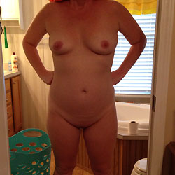After Shower - Close-Ups, Shaved, Wife/Wives