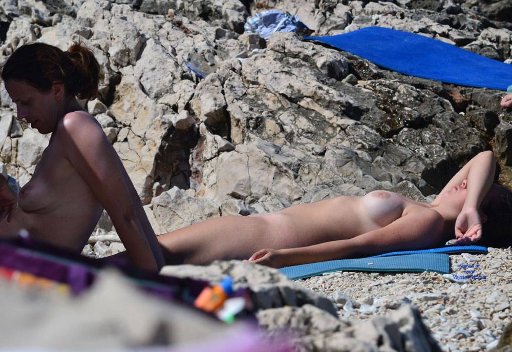 Beach huge natural breast mom beach sex voyeur cash