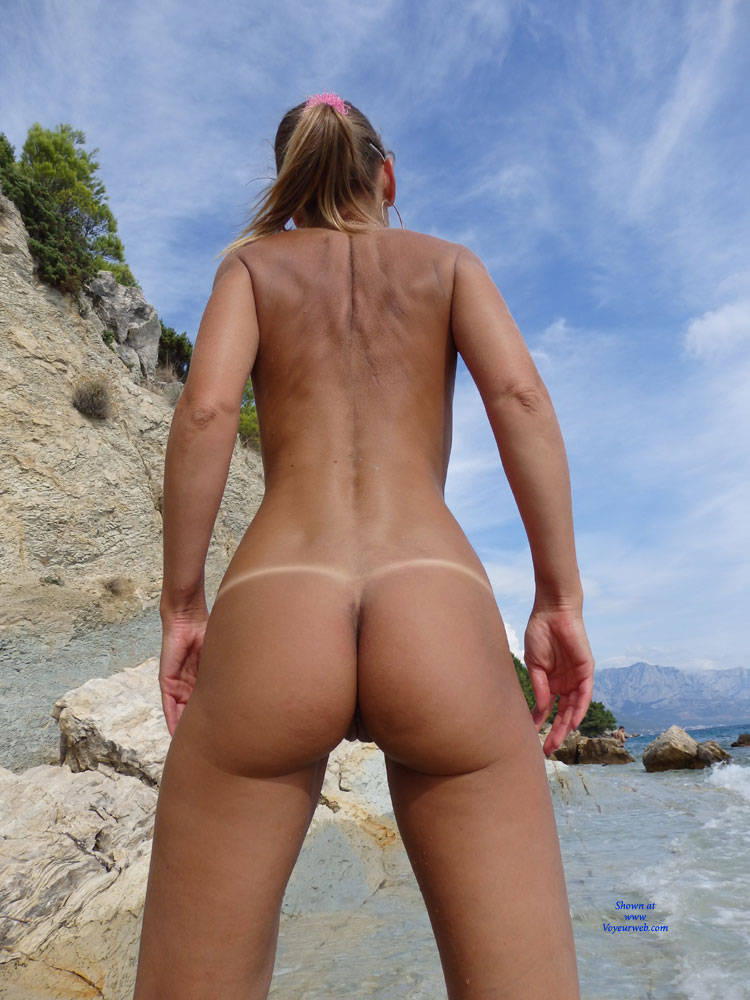 Pic #6 Mimice - Wife/wives, Small Tits, Outdoors, Beach, Shaved