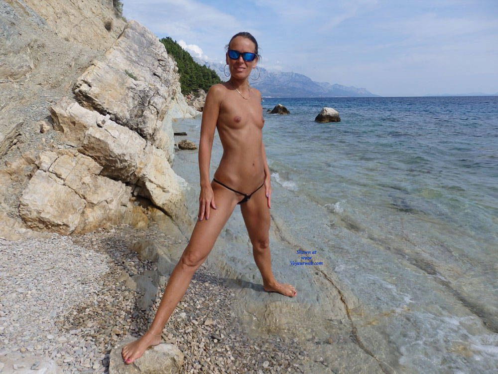 Pic #3 Mimice - Wife/wives, Small Tits, Outdoors, Beach, Shaved