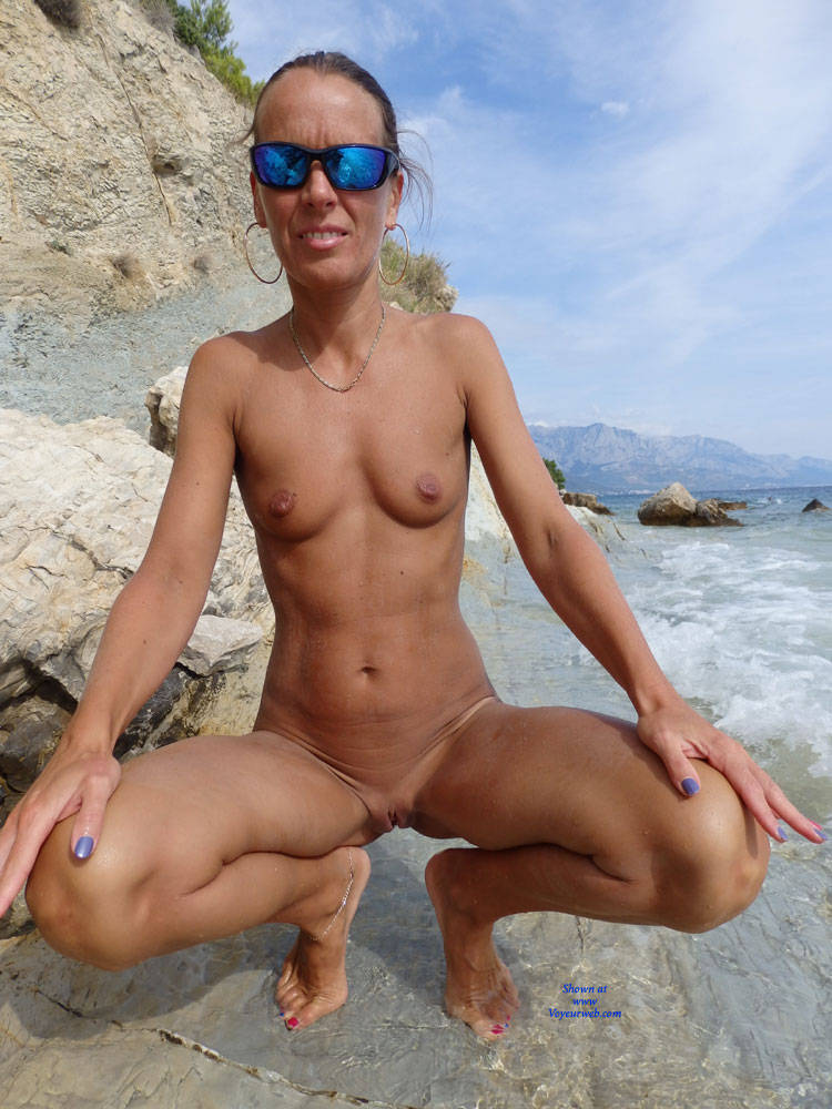 Pic #10 Mimice - Wife/wives, Small Tits, Outdoors, Beach, Shaved