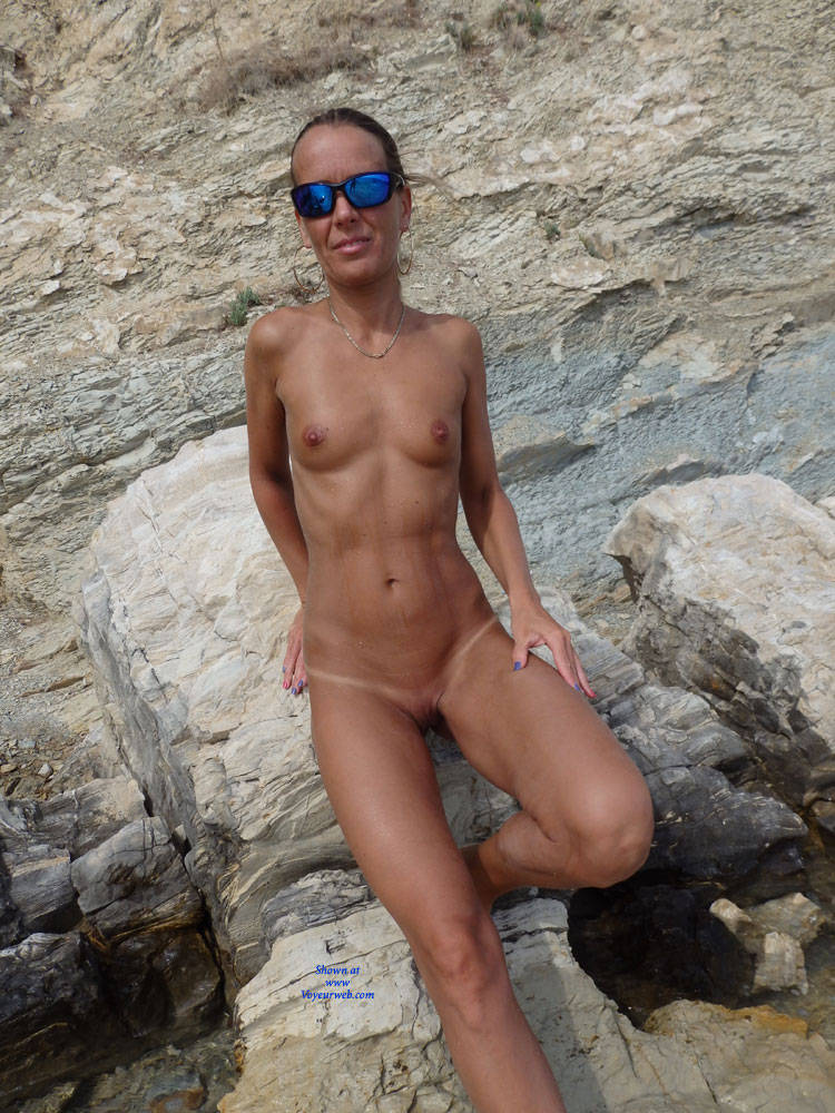 Pic #8 Mimice - Wife/wives, Small Tits, Outdoors, Beach, Shaved