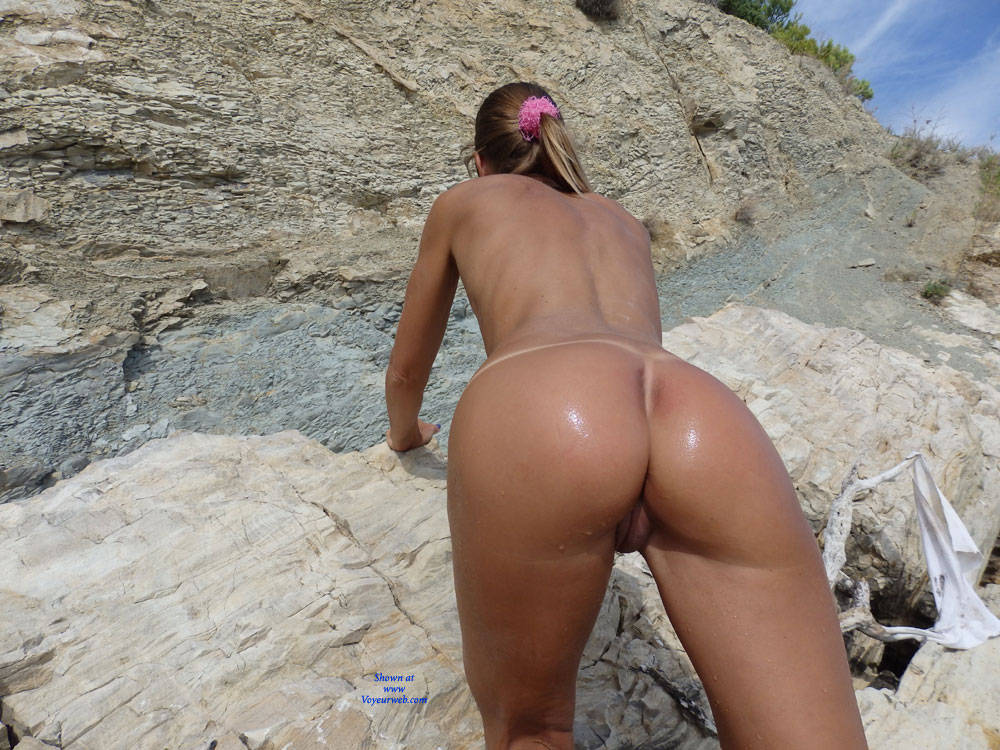 Pic #9 Mimice - Wife/wives, Small Tits, Outdoors, Beach, Shaved