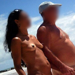Couple In Tambaba Beach, Brazil - Outdoors, Beach Voyeur