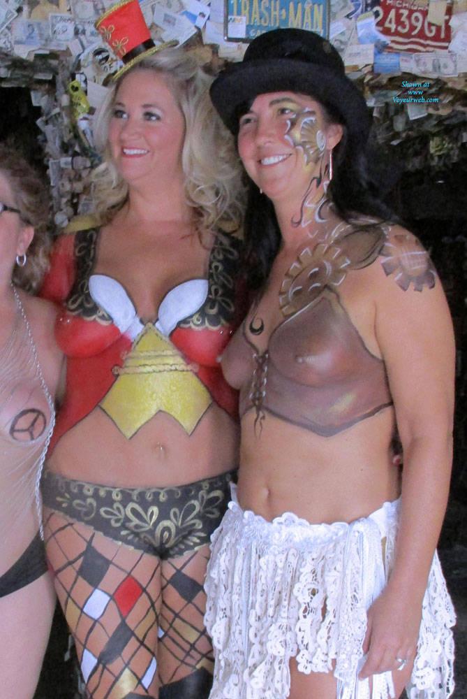 Sexy nude amature costume