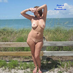 Fun At Lighthouse Park - Outdoors, Brunette, Big Tits, Wife/Wives