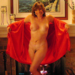 Hot By The Fireplace - Big Tits, Bush Or Hairy