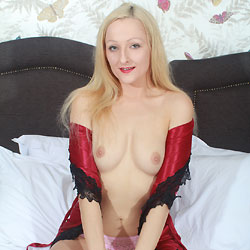 SexyC, First Time On RC - Big Tits, Blonde, Shaved