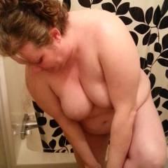 Shower Time - BBW, Big Tits, Brunette