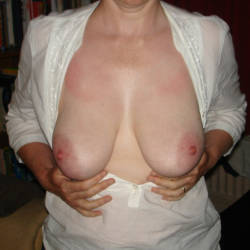 Large tits of my wife - Janda
