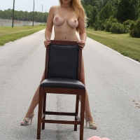 On the Road Again! - Blonde, Public Place, Big Ass