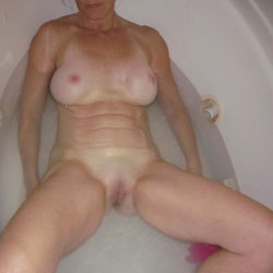 Getting Clean For Some Fun - Big Tits, Shaved