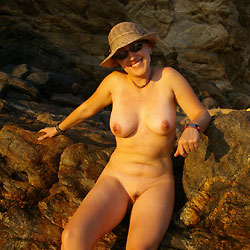En Zipolite Mexico - Beach, Big Tits, Outdoors