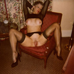 Old Polaroids - Big Tits, Lingerie
