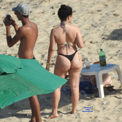Couple From Recife City, Brazil - Outdoors, Bikini Voyeur, Beach Voyeur