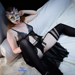 Missredpussy French Slut In Lingerie - Redhead, Lingerie, High Heels Amateurs, Wife/Wives