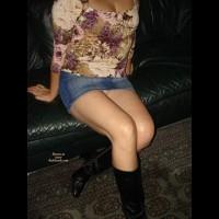 Terry In Mini Skirt