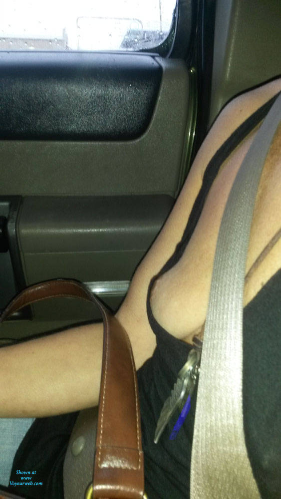 Pic #6 Out And About - Public Exhibitionist, Flashing, Public Place, Wife/wives